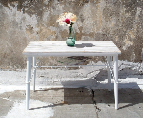 mesa ratona living madera