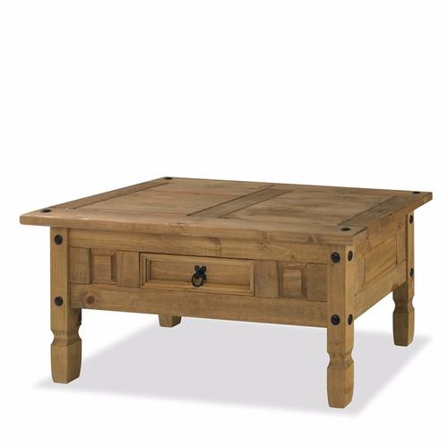 mesa ratona - living - rustica - estilo mexicano - lcm