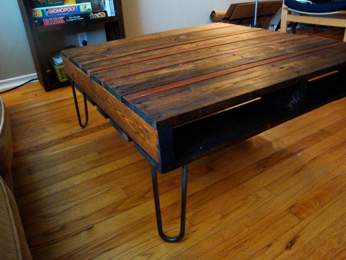 mesa ratona madera hierro rstica escritorio comedor bancos cargando zoom - Mesa De Madera Rustica