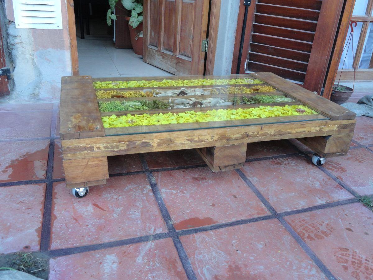 mesa ratona madera paletpallet reciclado cargando zoom
