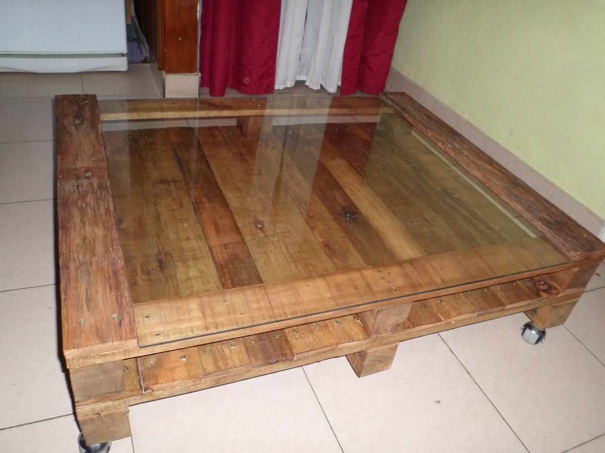 Mesa Ratona Madera Palet/pallet Reciclado - $ 1.500,00 en Mercado Libre