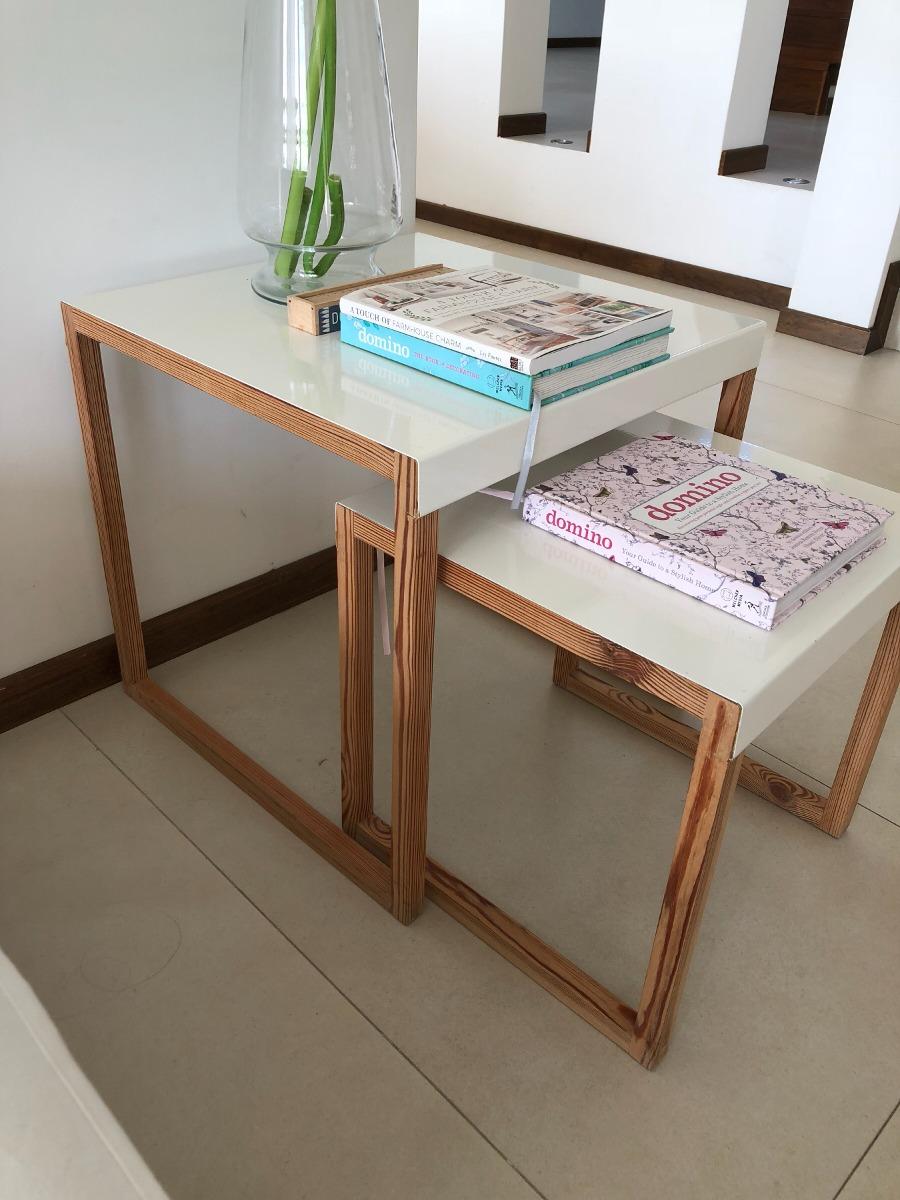 Mesa Ratona Mas Set De Mesas Kasa Design 8 000 00 En Mercado Libre # Muebles Kasa Design