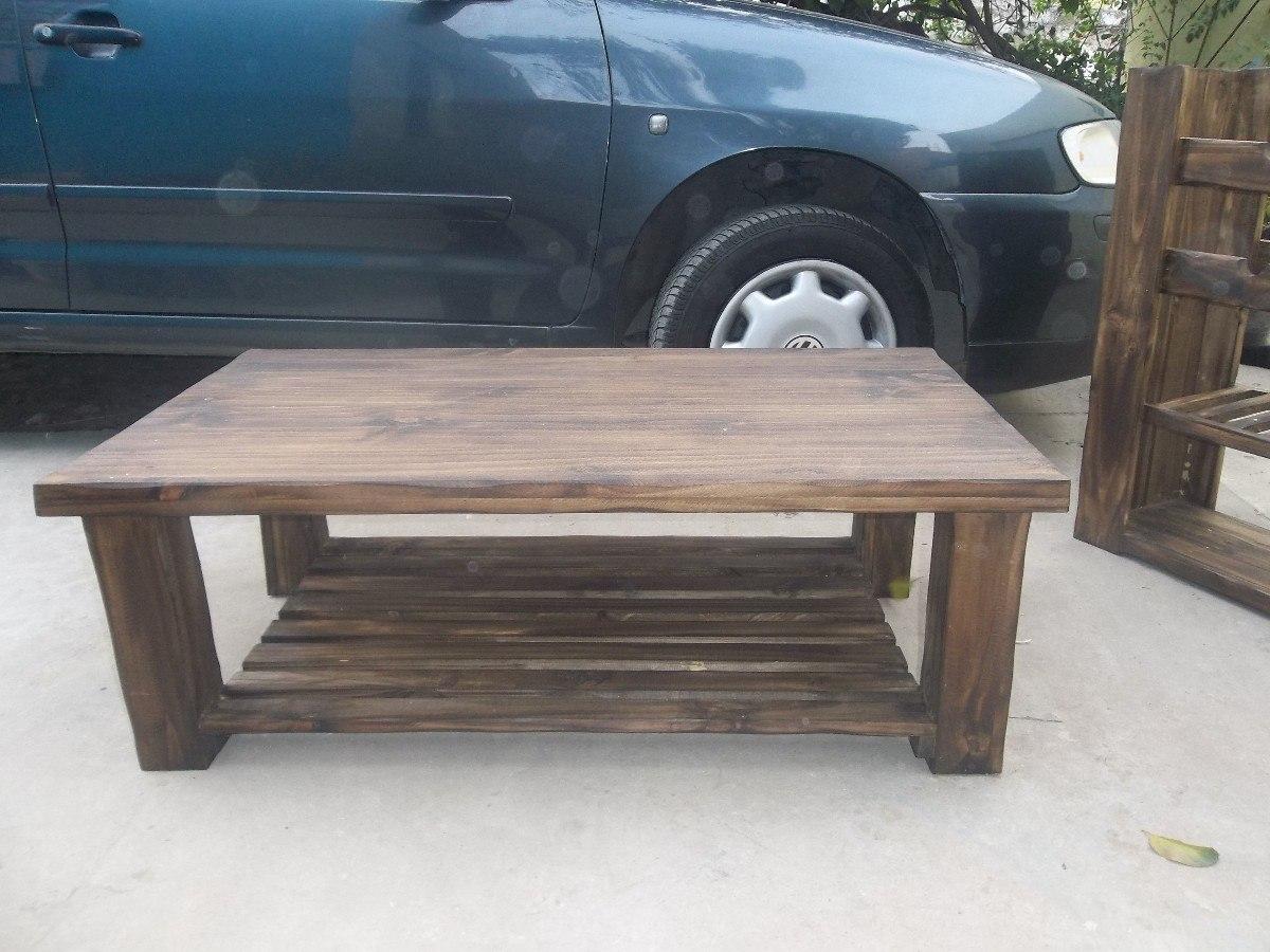 Muebles Para Living Rusticos En Mercado Libre Argentina # Muebles Bintash