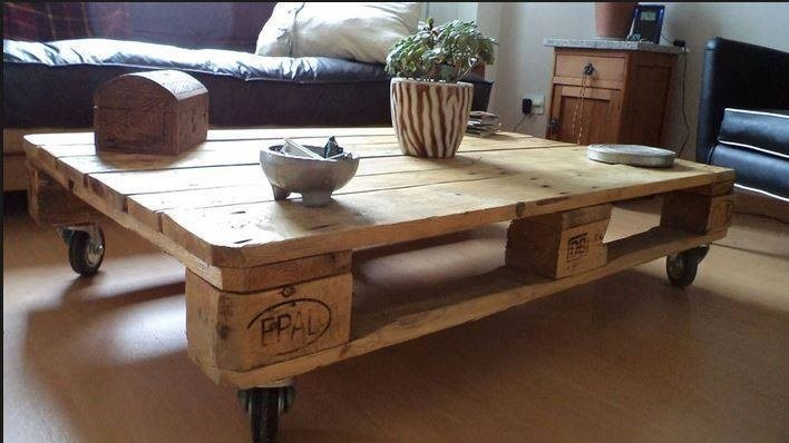 Mesa ratona mesa de living pallets en for Mesas de living