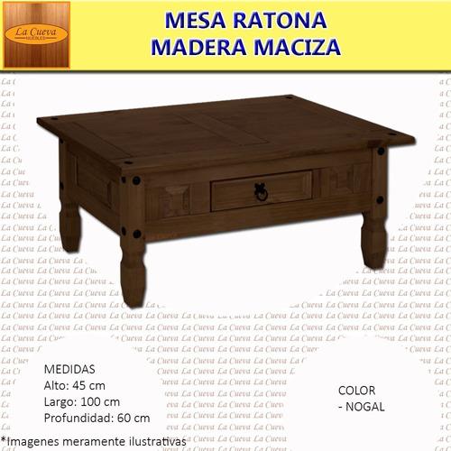 mesa ratona mueble