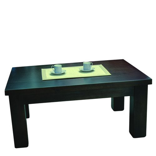 Mesa ratona para sillones o juego de living madera macisa for Juego de sillones para living