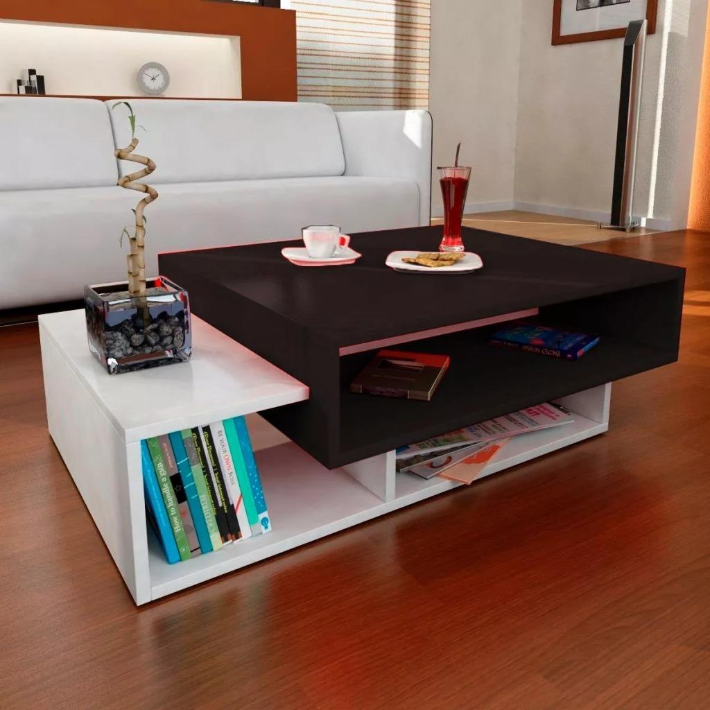 Mesa Ratona Portobelo Centro Moderna Living Rack 10 Off  # Fabrica De Muebles Vedia