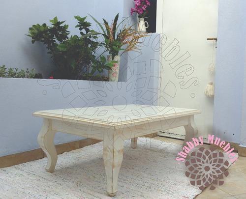 mesa ratona provenzal vintage 100x70