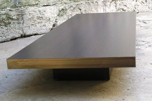 mesa ratona rectangular baja.