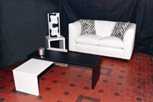 mesa ratona rectangular tipo puente
