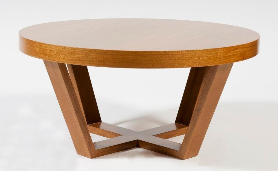 Mesa madera redonda mesa madera redonda comedor muebles - Mesas de madera modernas ...