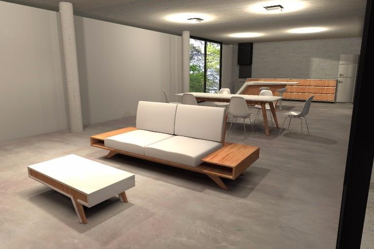Mesa ratona retro vintage moderna mueble laqueada    8.300,00 en ...