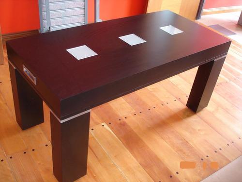 mesa ratona tapa elevable multifuncional
