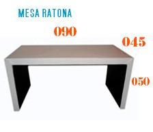 mesa ratona tapizada