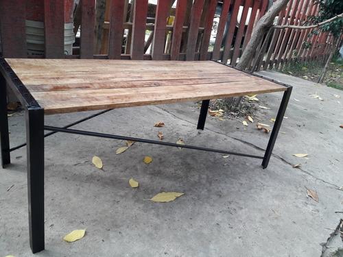 mesa ratona tipo industrial