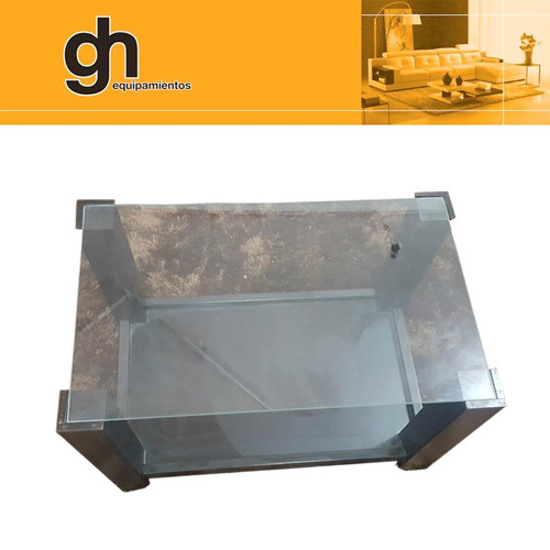 mesa ratona vidrio living..!