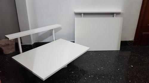Mesa de cocina plegable de pared elegant mesa plegable - Mesa plegable pared cocina ...