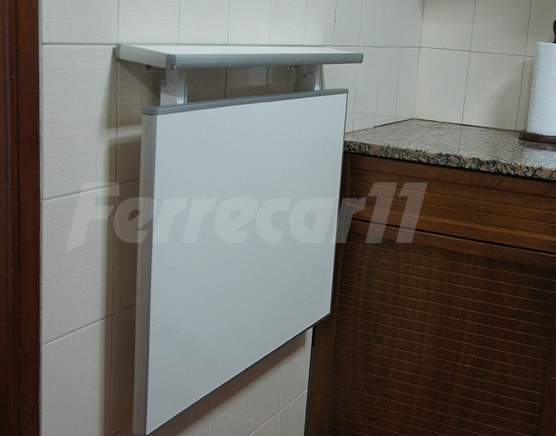 Cocina barra plegable - Mesa plegable cocina pared ...