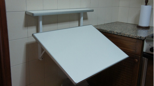 mesa rebatible plegable para cocina - desayunador
