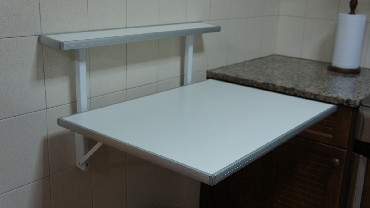 Mesas para cocinas mesas nuevas para cocina oferta for Mesa plegable pared