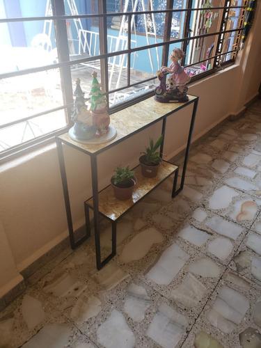 mesa recibidor / consola de dos plazas