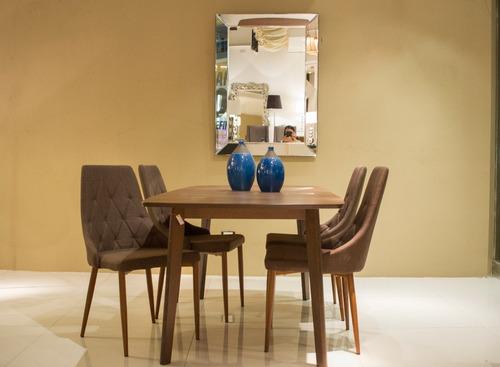 mesa rectangular extensible merlot beech