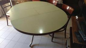 Mesa Redonda Extensible Ideal Cocina - Todo para Bazar y ...