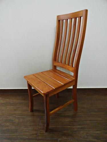mesa redonda giratória madeira rústica 1,40m + 8 cadeiras