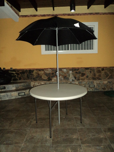 mesa redonda. imported!! jardín.area/social ( sin sombrilla)