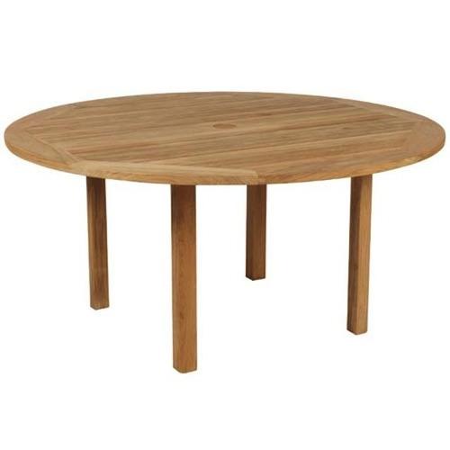 Mesas redondas vintage mesa de comedor redonda luis xv for Mesa vintage madera
