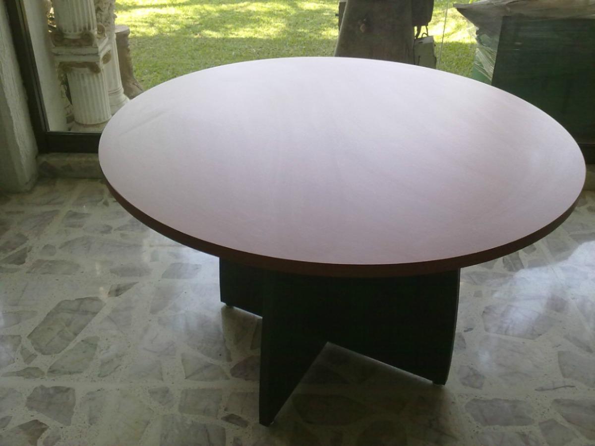 Mesa Redonda Modelo 7007 1.20 Diametro Dmm - $ 3,200.00 en Mercado Libre