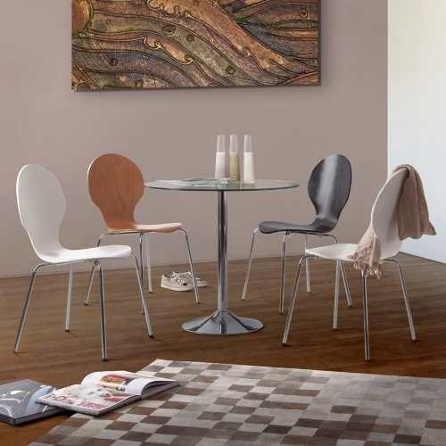 Mesa Redonda Moderna Comedor Diseño Vidrio Sistema Uv - $ 10.644,63 ...