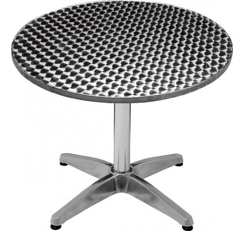 mesa redonda mor com 4 cadeiras para jardim até 90 kg