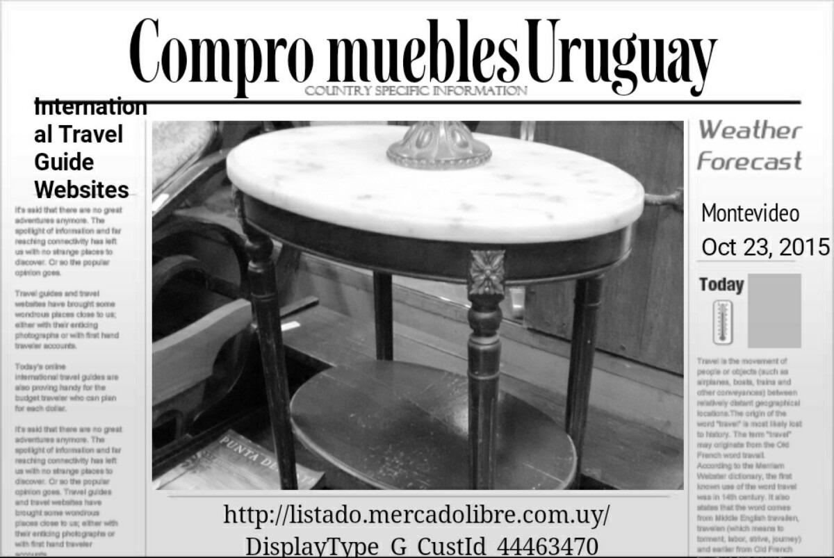 Mesa Redonda Pino Maciza. - $ 3.500,00 en Mercado Libre