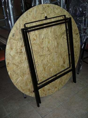 Como hacer una mesa redonda de madera mesa comedor - Patas para mesas redondas ...