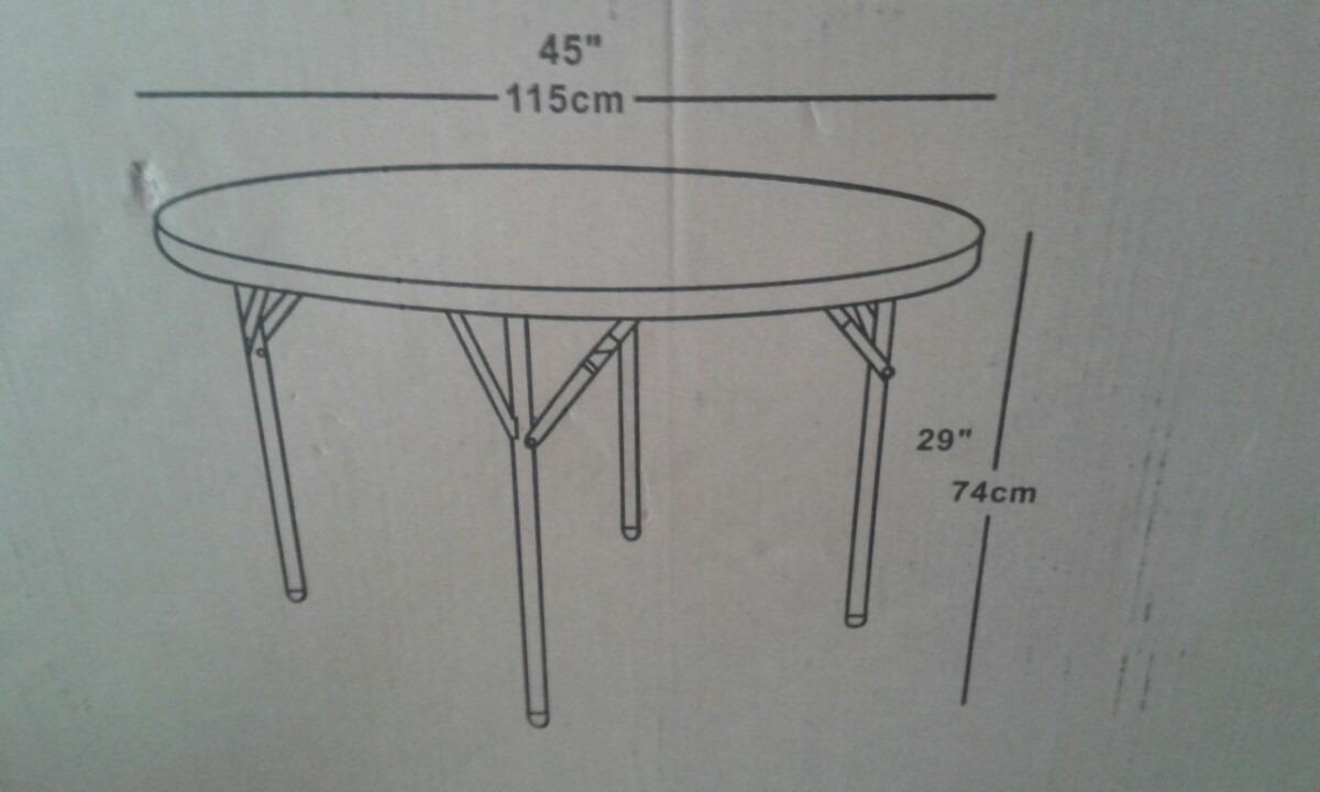 Patas para mesas redondas great fabulous mesa de comedor - Patas plegables para mesas ...