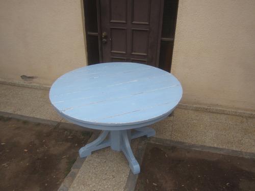 mesa redonda rauli