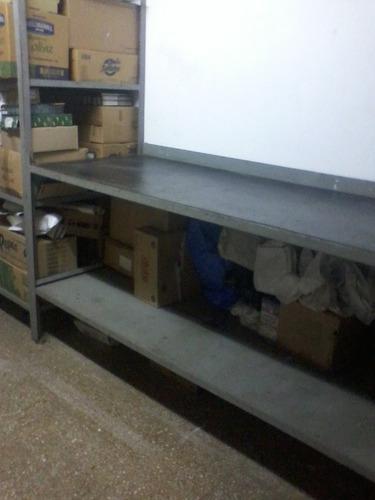 mesa reforzada de hierro revestida en goma