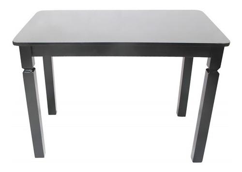 mesa retangular 110x70 em madeira cancun. bar, restaurante