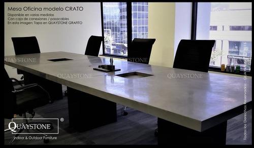 mesa reunion oficina conferencia grande silestone --fabrica