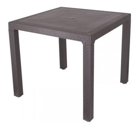 mesa rimax plastica resistente jardin exteriores hogar ea