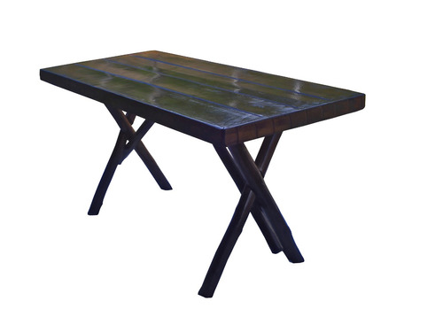 mesa rustica 1,00 metro