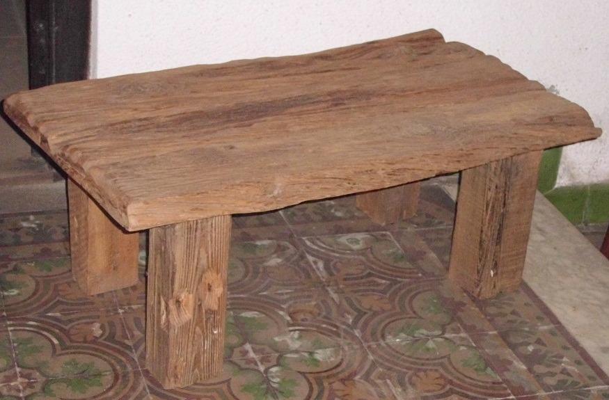 Mesa r stica de madera maciza en mercado libre - Mesa rustica madera ...