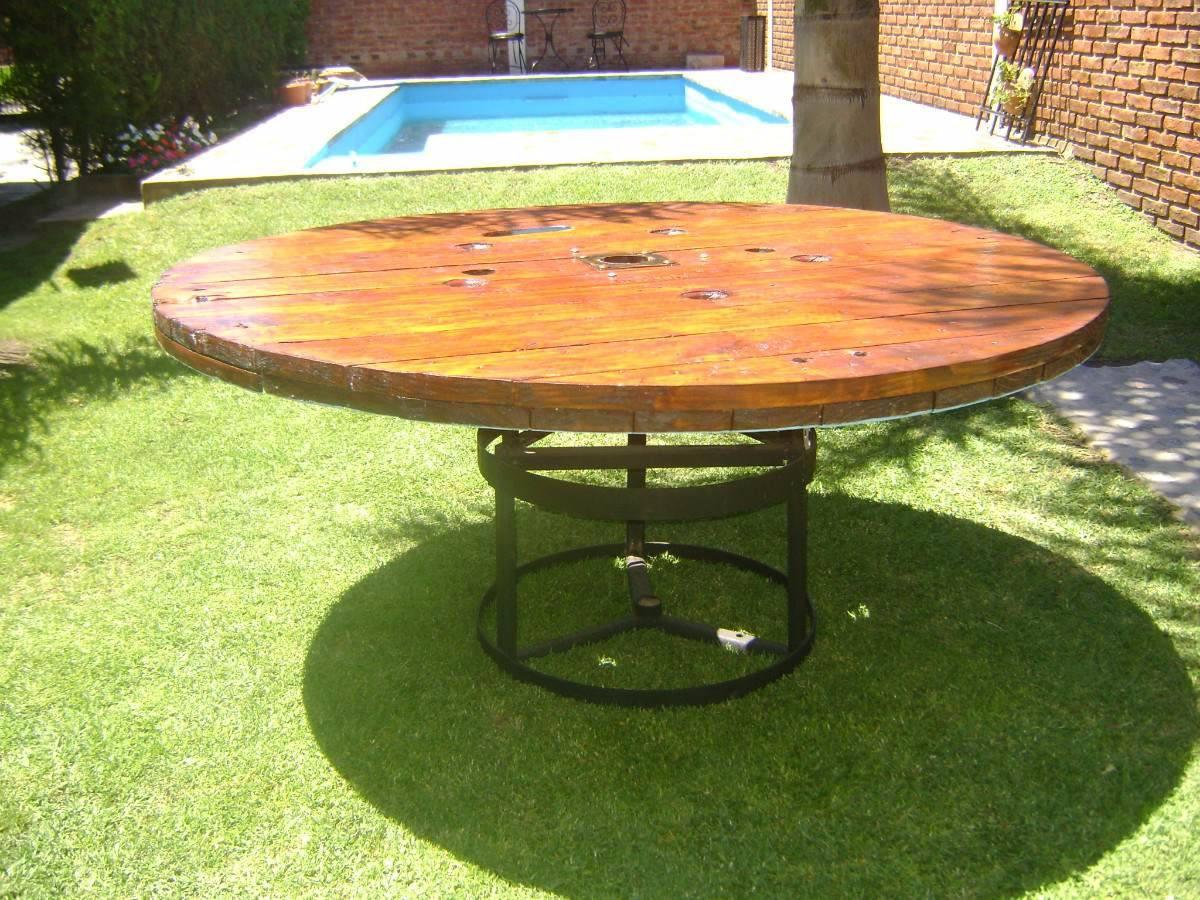 Mesas para exterior mesa lateral para exterior star for Mesas y sillas de madera para exterior