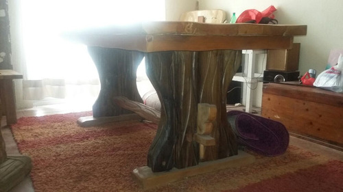 mesa rustica de rauliyroble acepto ofertas(solo interesados)
