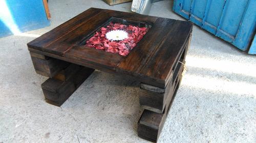 mesa rustica madera