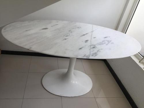 mesa saarinen 1,80x1.00 jantar branco esp. santo  promoçao
