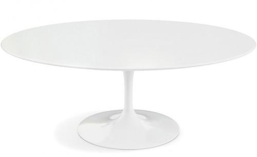 mesa saarinen jantar oval nanoglass 1,98 x 1,22 x 75