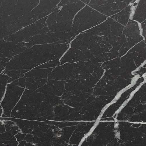 mesa saarinen jantar oval nero marquina 1,60 x 0,90 x 75