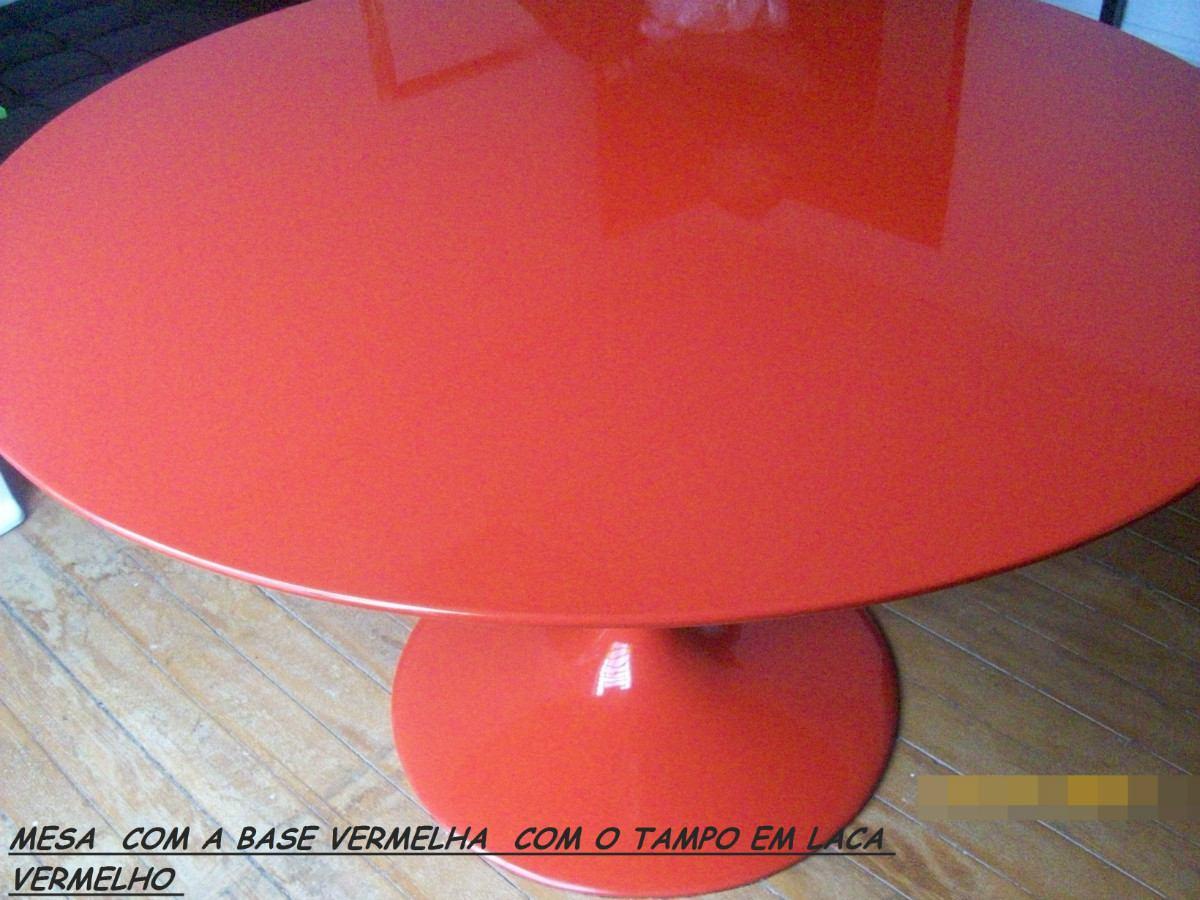 Mesa Saarinen Oval/ Tampo Em Mdf Pintura Auto. 1.60 X 0.90 R$ 1.900  #B52116 1200x900